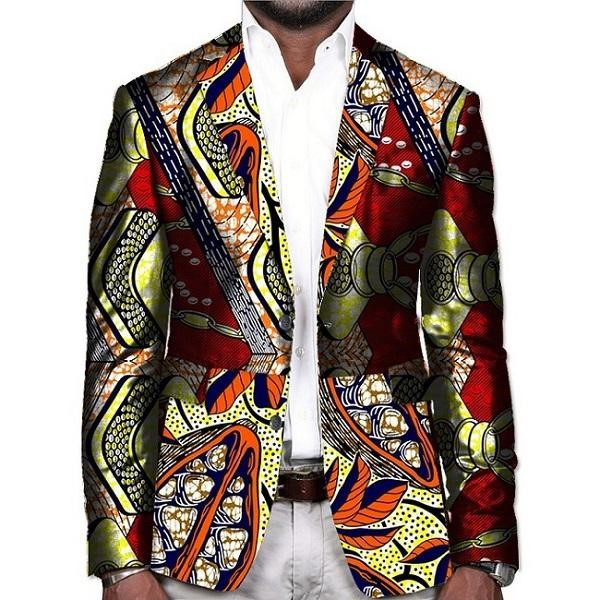 The colourful african blazer