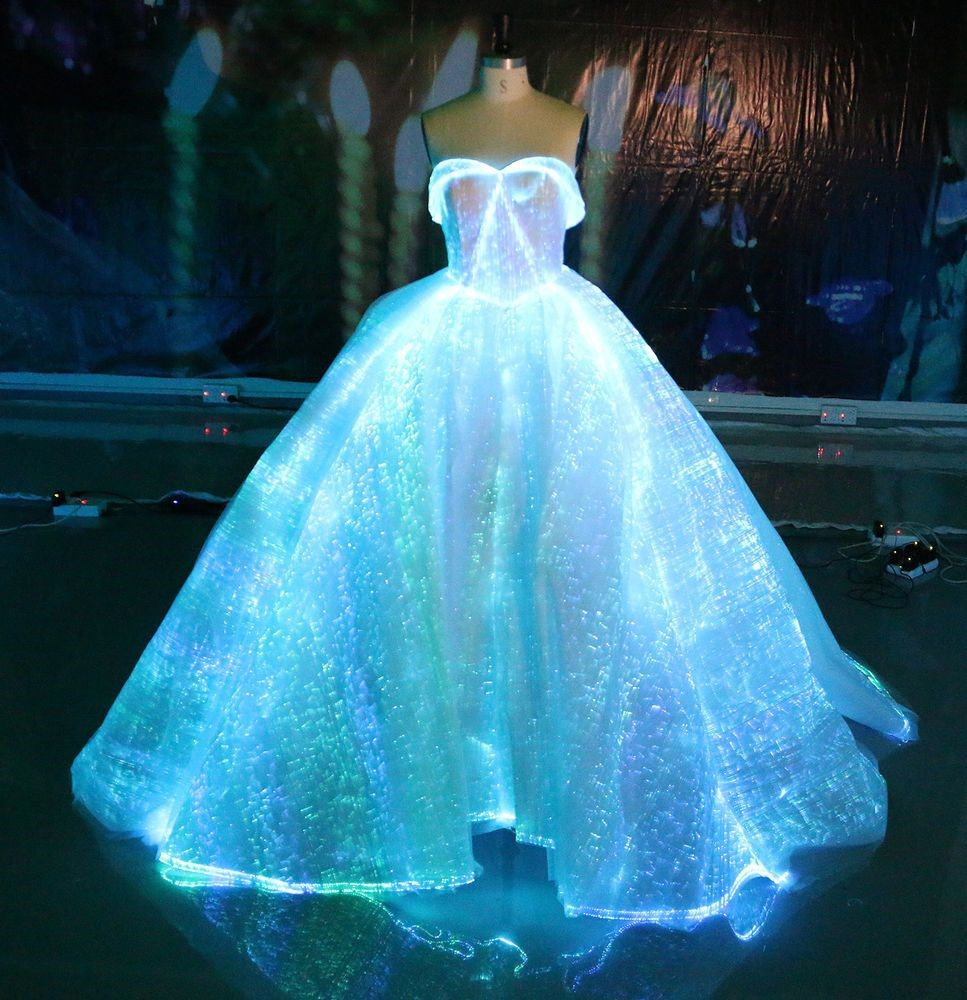 Out of the box fashion which can glow in the dark