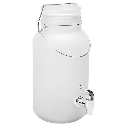 1GAL Frosted Glass Dispenser