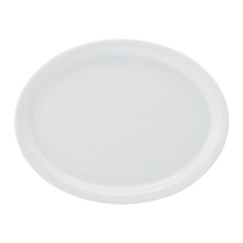 Porcelain Oval Dinner Plate