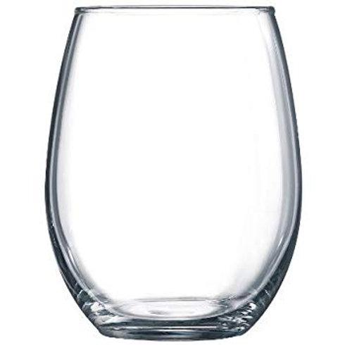Madison Stemless wine Glass