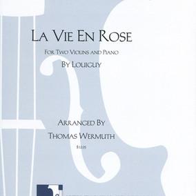 La Vie en Rose Arrangement Violin Tom We
