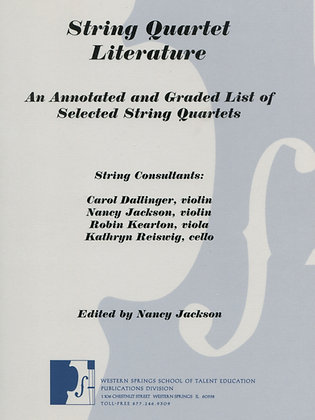String Quartet Literature