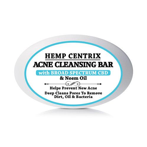 ACNE CLEANSING CBD SOAP BAR