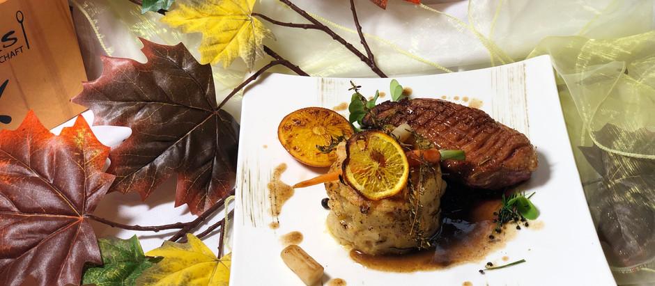 Monatskarte Cooks Restaurant Simmering