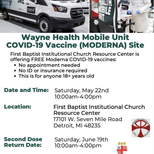 Moderna Vaccine Shot
