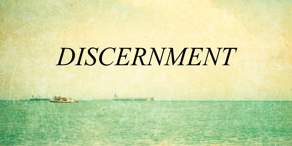 Discernment Class with Pastor Moore