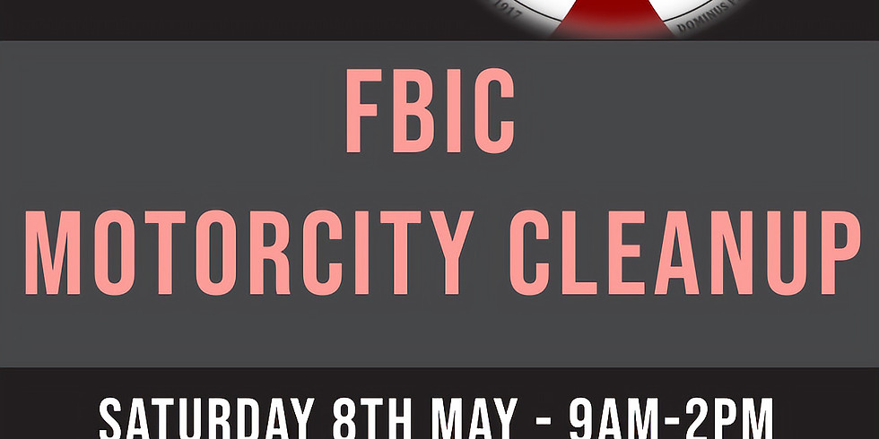 FBIC Motorcity Cleanup