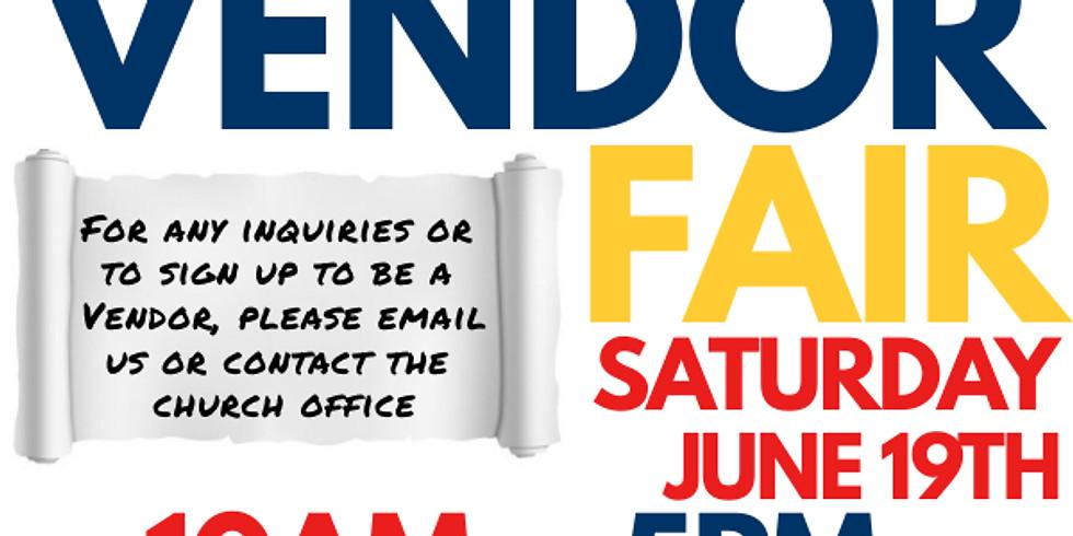 Juneteenth Vendor Fair