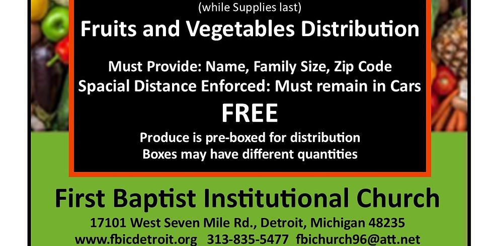 Food Distribution at FBIC
