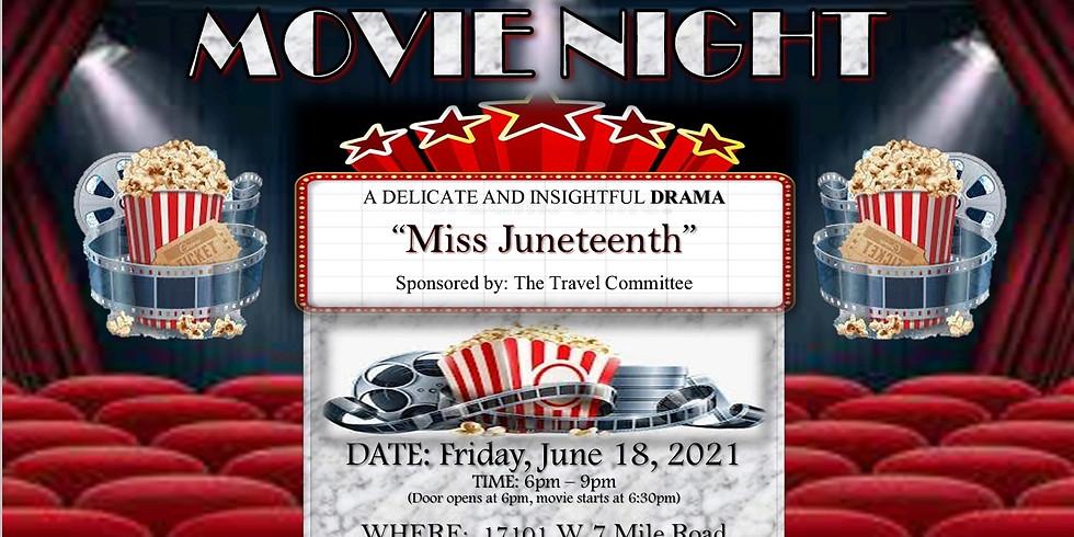 Miss Juneteenth Movie Night