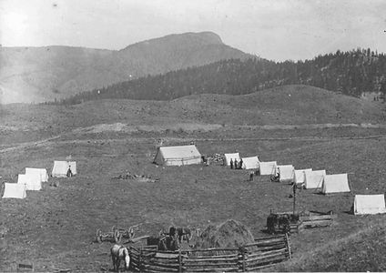 Tent city Belgo area 1910 KPA#5567 [1669