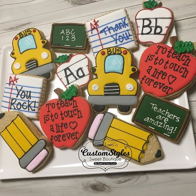 Teacher cookies