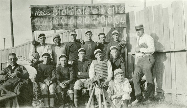Baseball_team_Rosalia_Washington_circa_1925