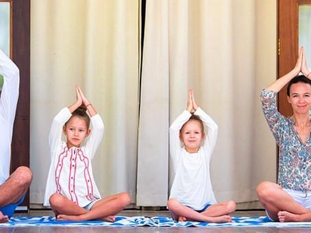 Stage de yoga en binôme parent & enfant