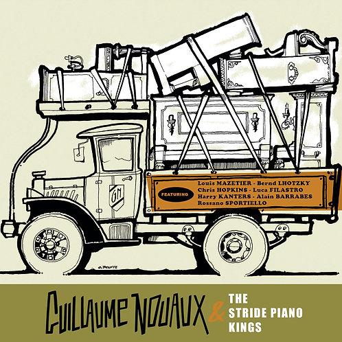 "【""GUILLAUME NOUAUX & The Stride Piano Kings""】『ギヨーム・ヌオー&ザ・ストライド・ピアノ・キングス』"