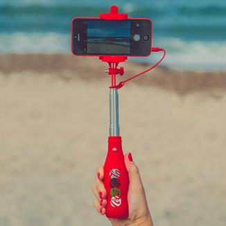 Coca Cola Selfie Stick