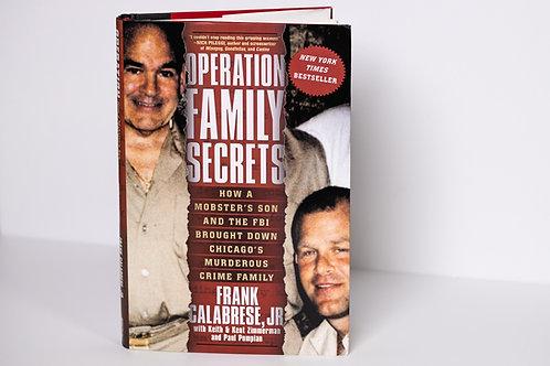 Operation Family Secrets Paperback Book