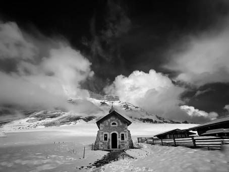 Winter escape to the French alps