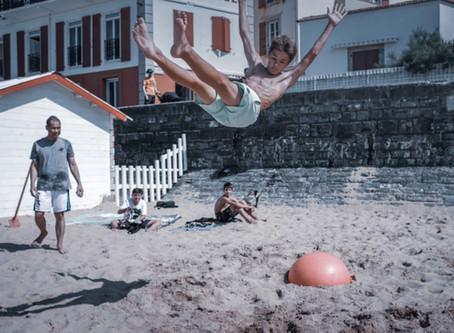 Beach jumping - Saint Jean de Luz