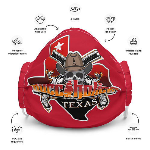 Buccaholics Texas Cloth Face mask