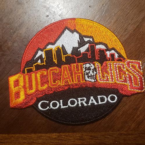 Buccaholics Classic Colorado Patch