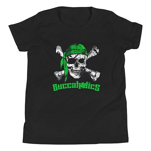Buccaholics Black Out Youth Short Sleeve T-Shirt