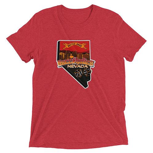 Buccaholics Nevada Triblend Short sleeve t-shirt