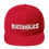 Thumbnail: Buccaholics FanFamily Snapback Hat Light Letters