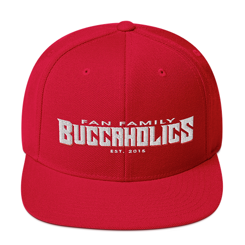 Buccaholics FanFamily Snapback Hat Light Letters