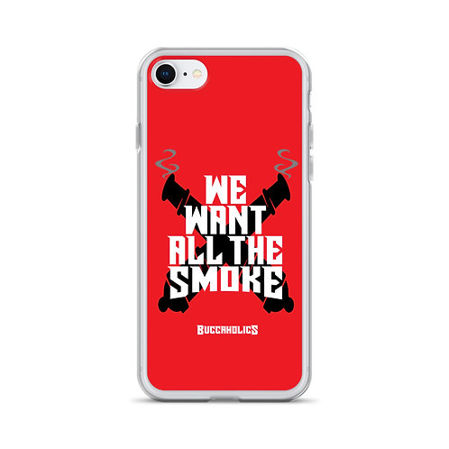 Buccaholics We Want All The Smoke iPhone Case