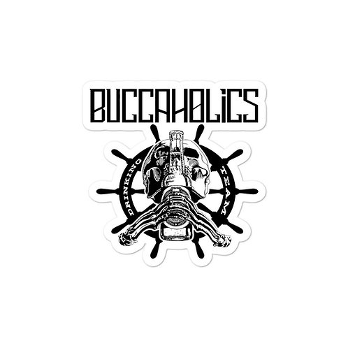 Buccaholics Drinking Team Bubble-free stickers #1
