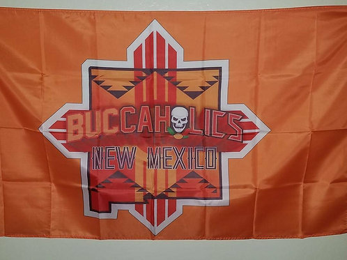 Buccaholics Classic New Mexico Flag