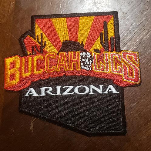 Buccaholics Classic Arizona Patch