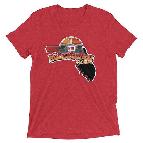 Buccaholics Florida Triblend Short sleeve t-shirt