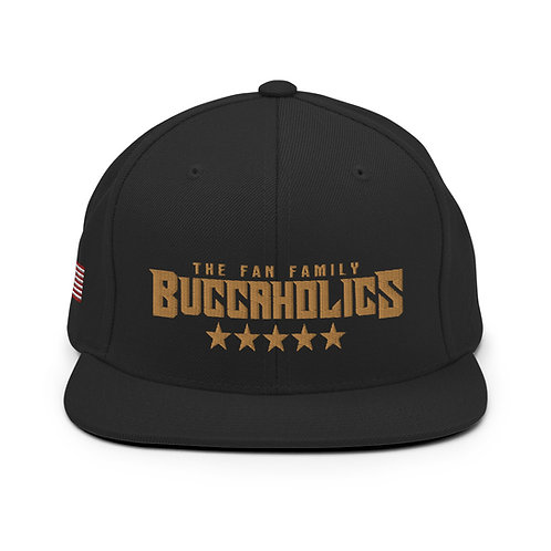 Buccaholics Snapback Hat Salute to Service 2020