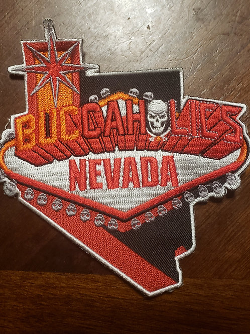 Buccaholics Classic Nevada Patch