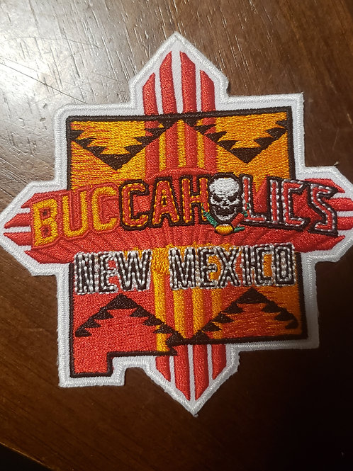 Buccaholics Classic New Mexico Patch