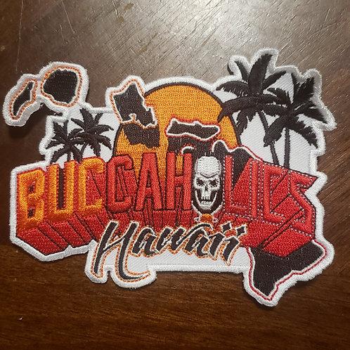 Buccaholics Classic Hawaii Patch