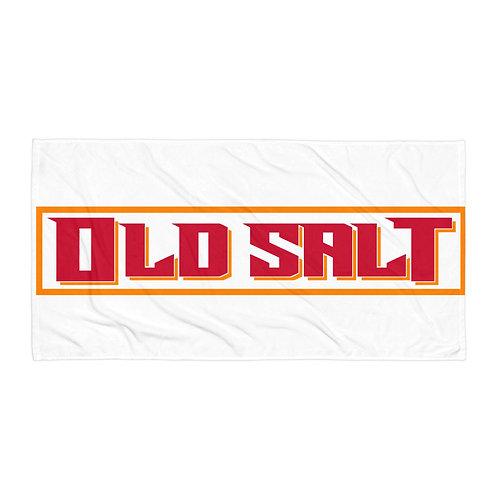 Old Salt Towel White