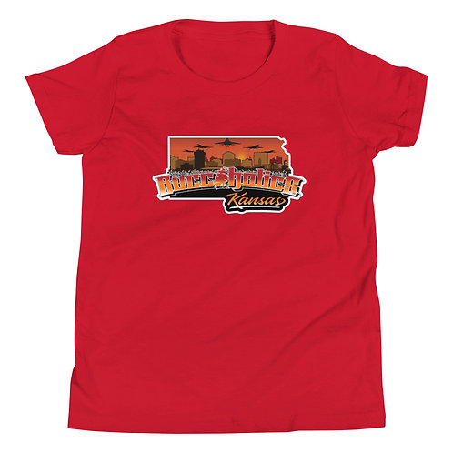 Buccaholics Kansas Youth Short Sleeve T-Shirt