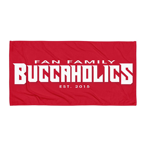 Buccaholics FanFamily Towel Red