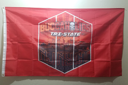 Buccaholics Classic Tri-State Flag