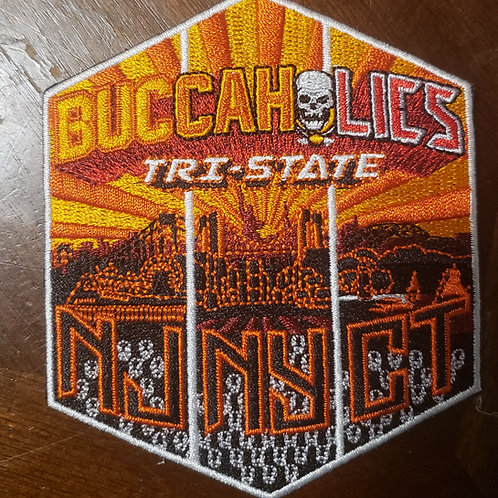 Buccaholics Classic Tri-State Patch