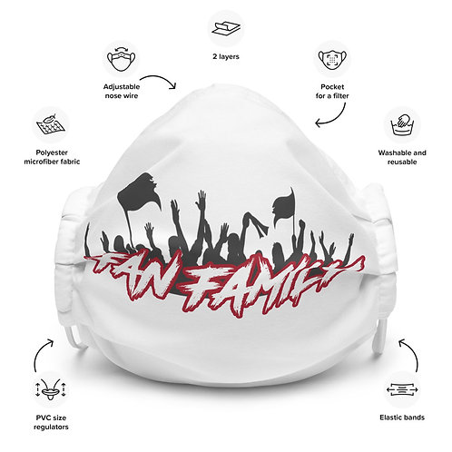 Buccaholics FanFamily Cloth Face mask