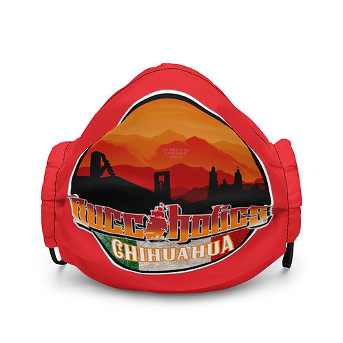 Buccaholics Mexico Chihuahua Cloth face mask