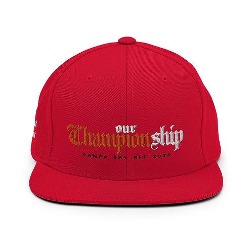 Championship Snapback Hat
