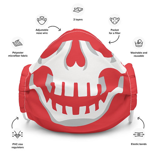 Buccaholics Skull Cloth Face mask
