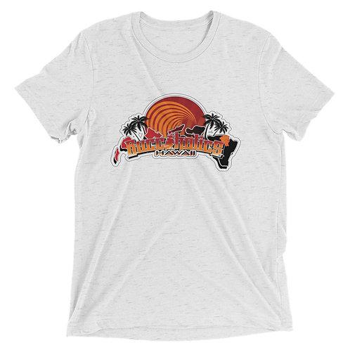 Buccaholics Hawaii Triblend Short sleeve t-shirt