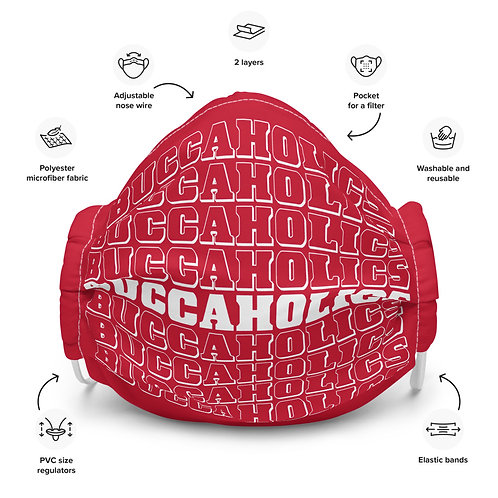 Buccaholics Multi Cloth Face mask